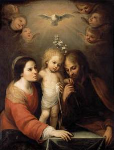 Juan Simon Gutierrez The Holy Family Private Collection