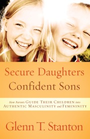 Secure Daughters, Confident Sons book cover