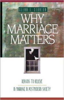 Glenn Why marriage matters