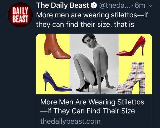 Daily Beast Stilletos